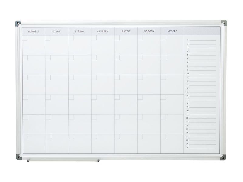 Měsíční plánovací tabule ARTA 90x60