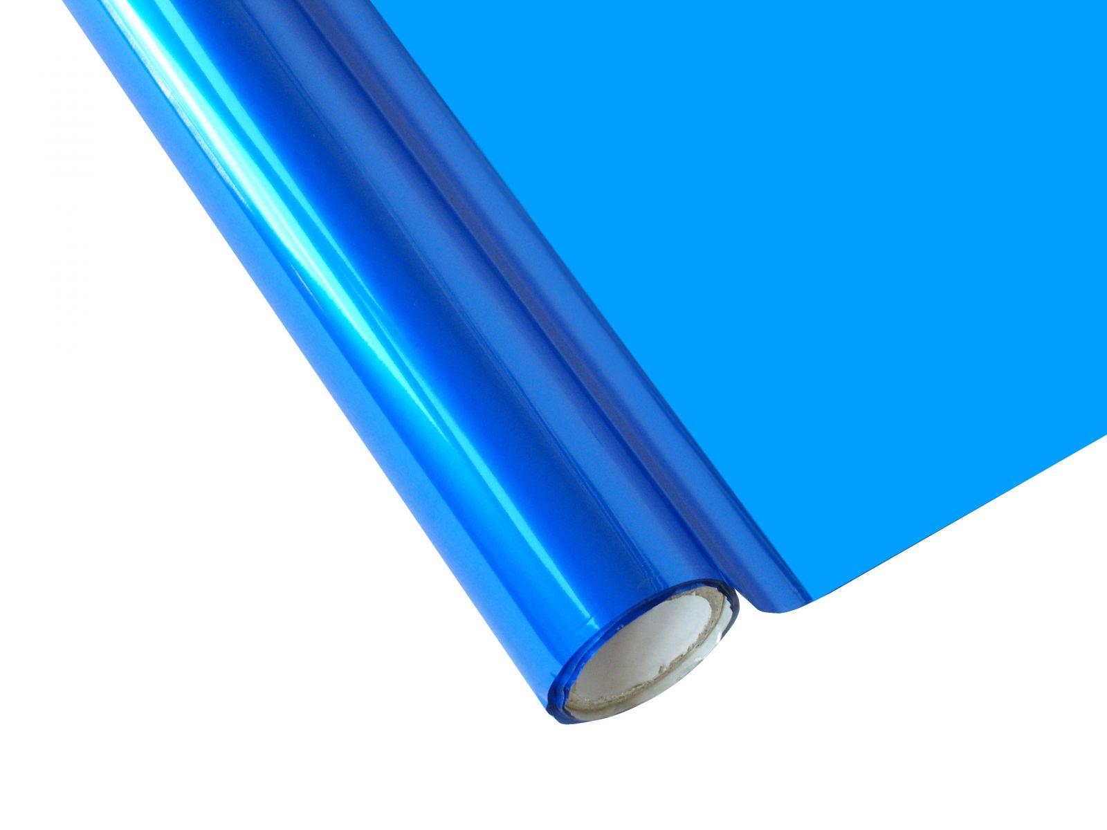 Metalická fólie barvící - královská modrá BC 30cm x 12m FOREVER