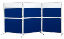 Panel Modular 2x3 s výplňí z čirého plexi - 120 x 120 cm