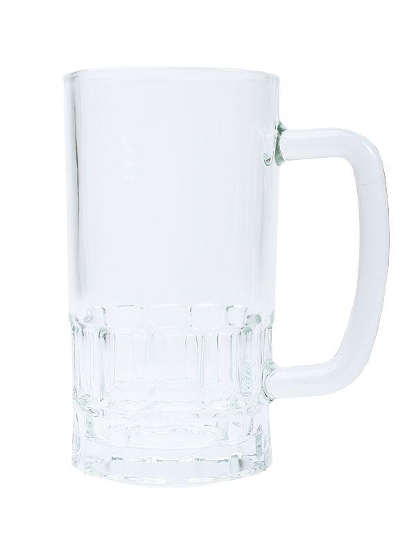 Pivní půllitr čirý 20 Oz s prolisem BESTSUB