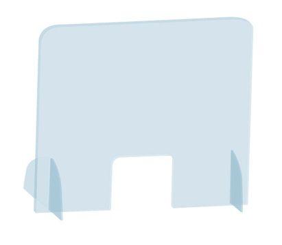 Vertikální ochranný stojánek na stůl 85 x 50 cm 2x3