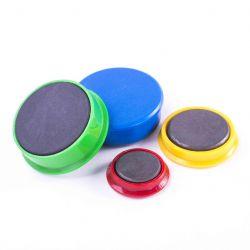 zelený magnet prům. 13mm