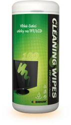 Čistící utěrky na LCD - 100ks