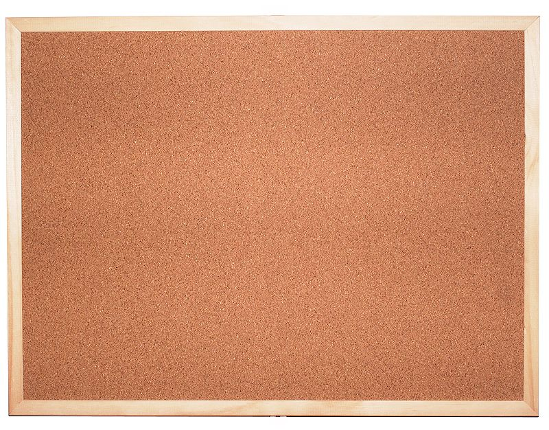 Korková tabule jednostranná 40x60 (12 ks v kartonu) CLASSIC
