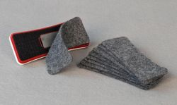 Magnetická stěrka ARTA s výměnným filcem