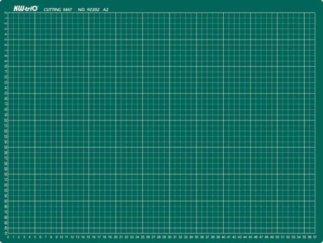 Řezná podložka KW triO A4, 220x300 KW-TRIO