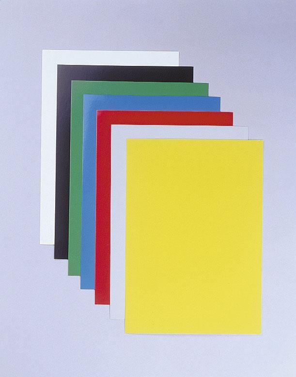 desky CHROMOLUX žluté, A4