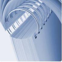 Drátěná vazba 2:1, 8 mm - stříbrná RENZ