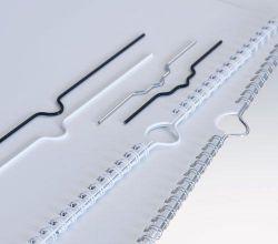 háčky stříbrné 150 mm do kalendářové vazby