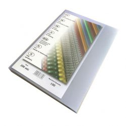 Matné přední desky pro vazbu 200 mic/A4
