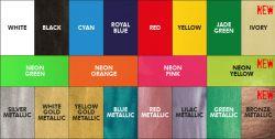 FOREVER Flex Soft ( NO-Cut ) Neon-oranžová-A3
