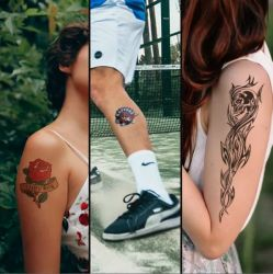 FOREVER Tattoo paper ( set A-foil a B-paper ) 25 listů