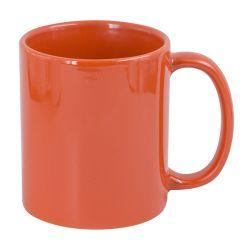 Hrnek pro potisk bílým tonerem - oranžová