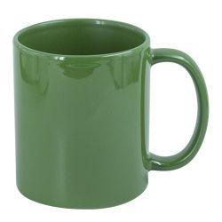 Hrnek pro potisk bílým tonerem - zelená
