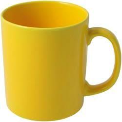 Hrnek pro potisk bílým tonerem - žlutá