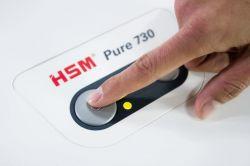 Skartovací stroj HSM Pure 740 3.9 mm