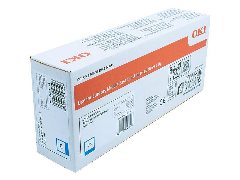 Toner pro OKI ES7411WT - cyan (11,5k stran) OKI EUROPE