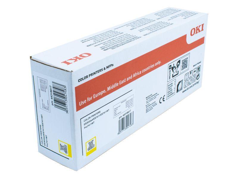 Toner pro OKI ES7411WT - yellow (11,5k stran) OKI EUROPE