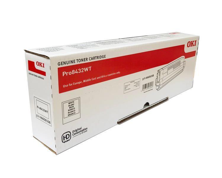Toner pro OKI Pro8432WT - white (4,5k stran) OKI EUROPE
