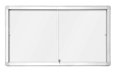 Horizontální magnetická vitrína s posuvnými dveřmi 97x70 cm (8xA4) 2x3