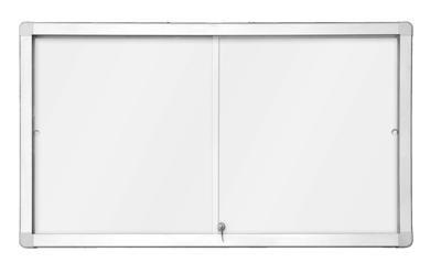 Horizontální magnetická vitrína s posuvnými dveřmi 141x 70 cm (12xA4) 2x3