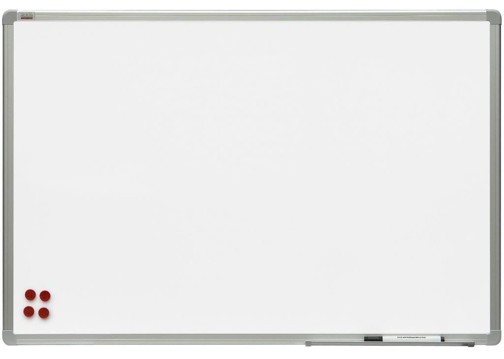 Magnetická tabule Ceramic Premium- keramický povrch, hliníkový rám 180x120 cm 2x3