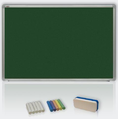 Magneticko-keramická tabule 150x100 - křída, ALU23 2x3