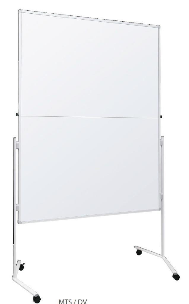 Moderační tabule lakovaná 120 x 150 cm - skládací 2x3
