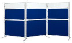 Panel 2x3 Modular, 120 x 120 cm, filcový modrý