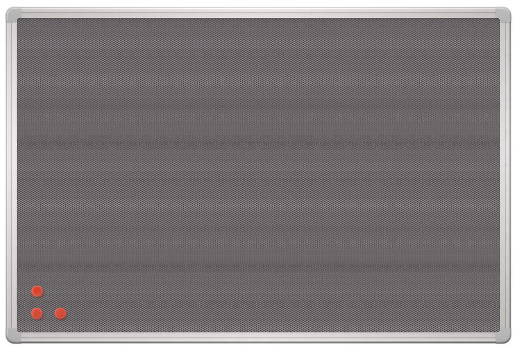 Tabule Pinmag 90 x 60 cm hliníkový rám 2x3