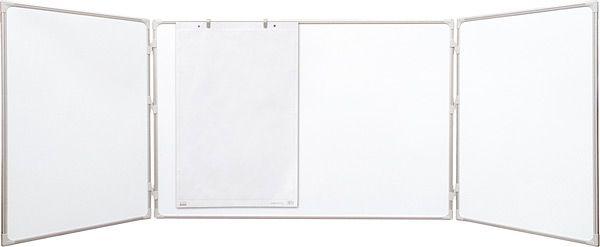 Triptych lakovaný bílý 180x120/360 2x3