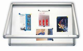 Venkovní magnetická vitrína - 6xA4/75x70cm 2x3