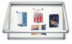 Venkovní vitrína s horizontálním otevíráním 12A4 - 75 x 135 cm