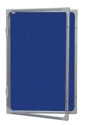 Vitrína 60x90cm, filcový vnitřek, mod.2