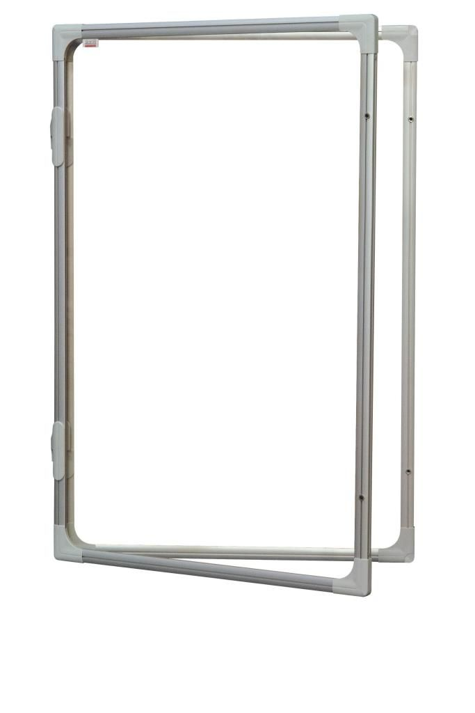 Vitrína interiérová s vertikálním otevíráním 90x60cm, magnetický povrch, model 2 2x3