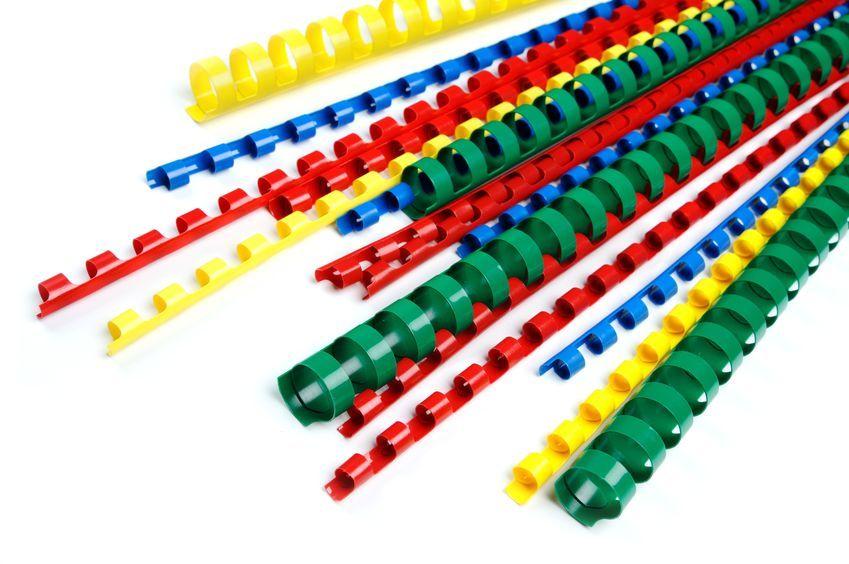 Červené kroužky pro vazbu, 10mm CLASSIC
