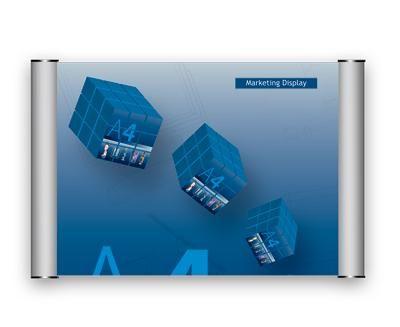 Dveřní a informační tabulka 400x500mm 2x3