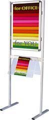 Informační tabule na 2 nohách - jednostranná