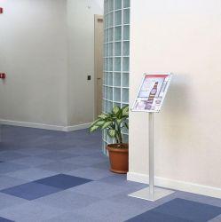 Informační tabule na stojanu 100 cm, A4 na šířku i výšku MT DISPLAYS