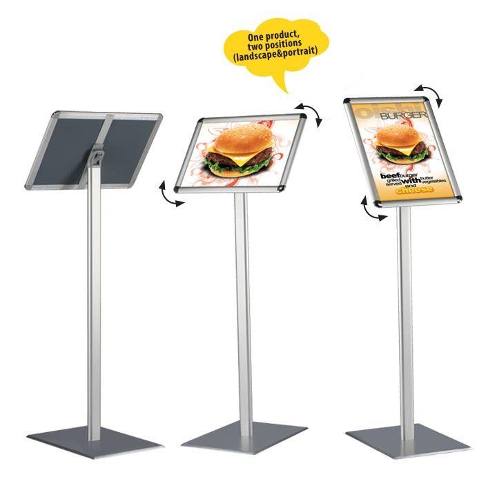 Informační tabule na stojanu 120 cm, A3 na šířku i výšku MT DISPLAYS