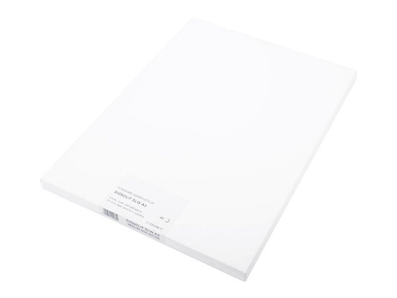 Signolit SLW A3 - bílá matná samolepící fólie REGULUS