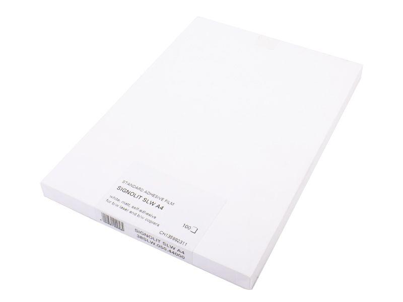 Signolit SLW A4 - bílá matná samolepící fólie REGULUS