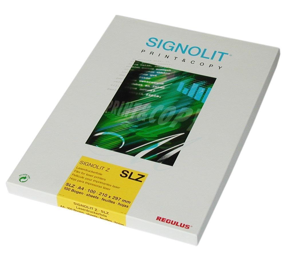 Signolit SLZ A4, matná fólie pro čb kopírky REGULUS