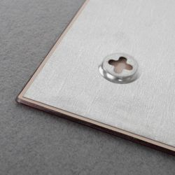 Skleněná magnetická tabule 150x100 cm - červená 2x3