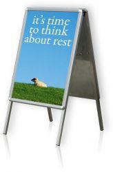 Tabule plakátová na stojanu, B1