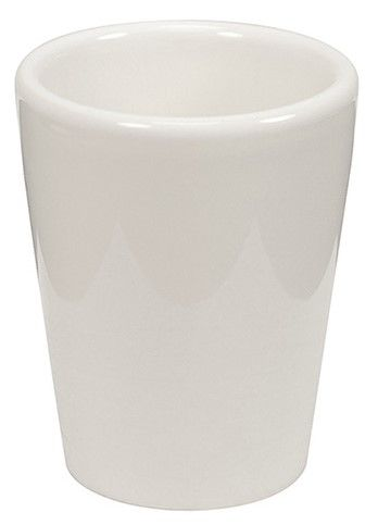 Bílý keramický panák - 1,5 OZ